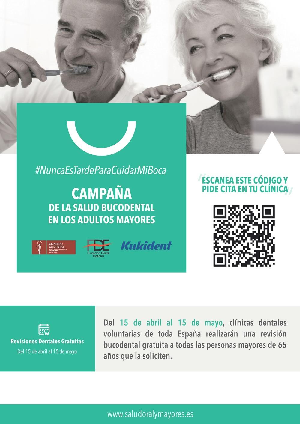 Dr López de Calatayud - Campaña Salud Oral en mayores - Póster